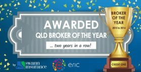 Credit One Named Broker of the Year 2015 & 2016
