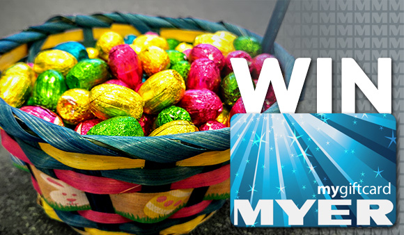 Happy easter guess to win a 50 myer gift card credit one win a 50 myer gift card negle Images