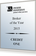 Credit One - Broker of the Year 2015