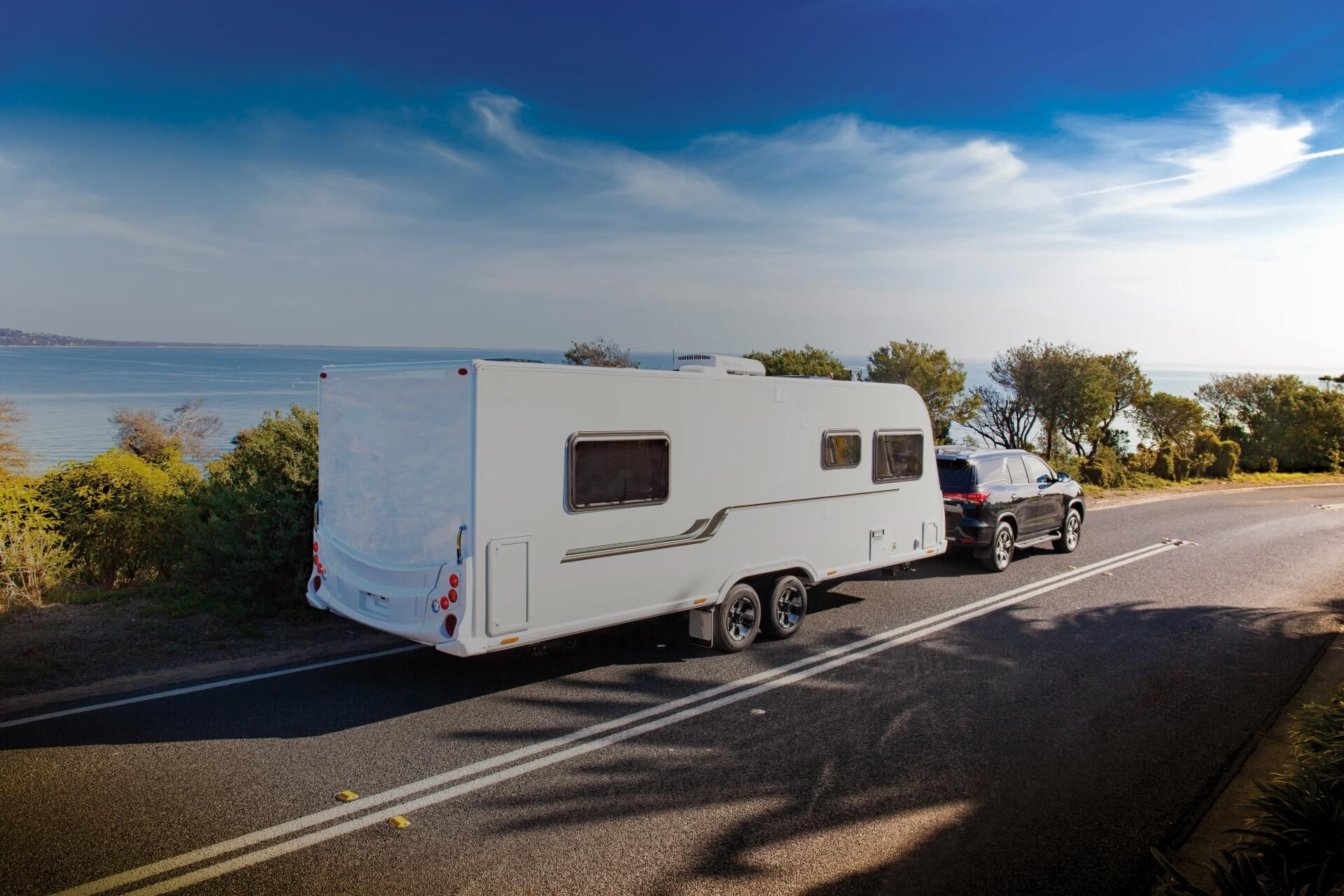 Secured Caravan Loan hero banner