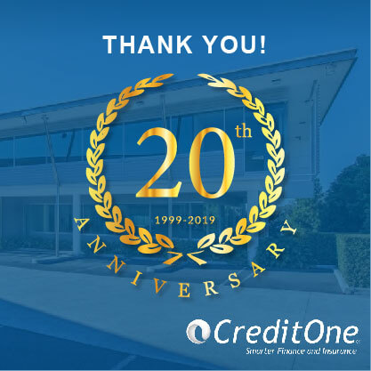 Credit One 20th anniversary image