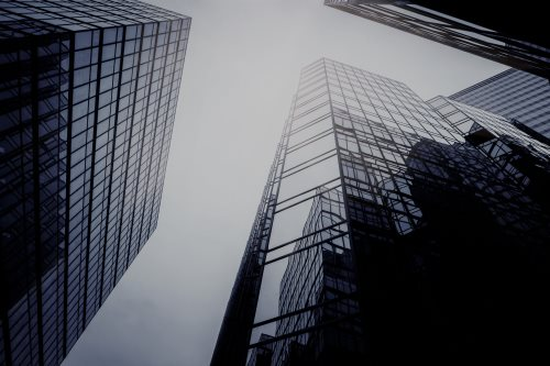 Tall buildings image