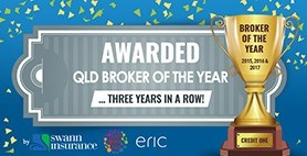 Credit One Win's Eric Insurance 'Broker of the Year'